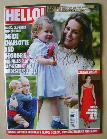 <!--2016-10-10-->Hello! magazine - Kate Middleton and Princess Charlotte co