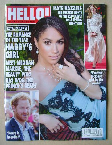 <!--2016-11-14-->Hello! magazine - Meghan Markle cover (14 November 2016 -