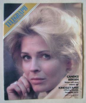 The Sunday Telegraph magazine - Candice Bergen cover (18 December 1977)