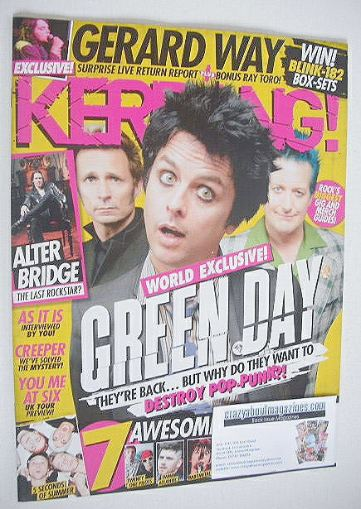<!--2016-10-08-->Kerrang magazine - Green Day cover (8 October 2016 - Issue