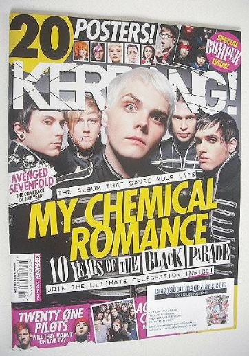 <!--2016-10-22-->Kerrang magazine - My Chemical Romance cover (22 October 2