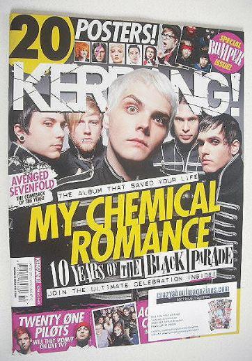 <!--2016-10-22-->Kerrang magazine - My Chemical Romance cover (22 October 2