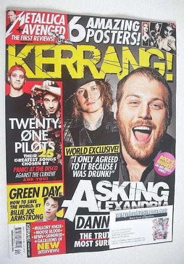 <!--2016-11-05-->Kerrang magazine - Asking Alexandria cover (5 November 201