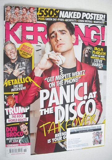 <!--2016-11-19-->Kerrang magazine - Brendon Urie cover (19 November 2016 -