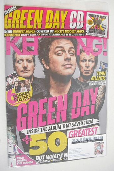 <!--2016-12-10-->Kerrang magazine - Green Day cover (10 December 2016 - Iss