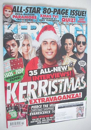 <!--2016-12-17-->Kerrang magazine - Christmas Issue (17 December 2016 - Iss