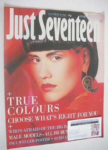 <!--1985-10-30-->Just Seventeen magazine - 30 October 1985