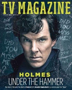 The Sun TV magazine - 31 December 2016 - Benedict Cumberbatch cover