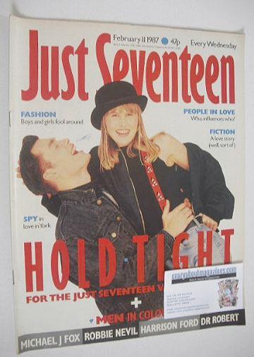 <!--1987-02-11-->Just Seventeen magazine - 11 February 1987