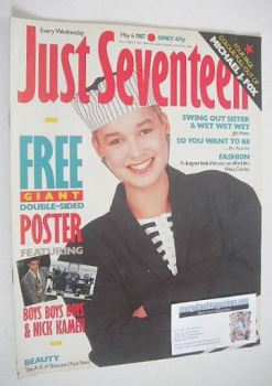 Just Seventeen magazine - 6 May 1987