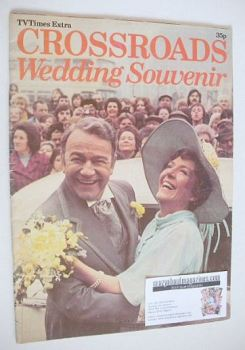 TV Times Extra Crossroads Wedding Souvenir (1975)