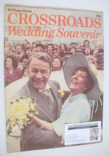 <!--1975-01-01-->TV Times Extra Crossroads Wedding Souvenir (1975)