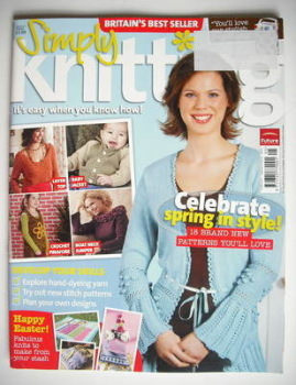 <!--2007-04-->Simply Knitting magazine (Issue 27 - Spring 2007)