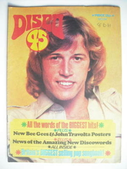 Disco 45 magazine - No 94 - August 1978 - Andy Gibb cover