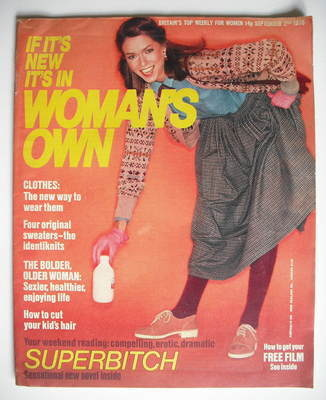 <!--1978-09-02-->Woman's Own magazine - 2 September 1978