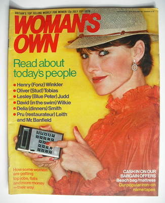 <!--1978-07-15-->Woman's Own magazine - 15 July 1978