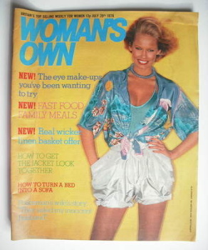 <!--1978-07-29-->Woman's Own magazine - 29 July 1978