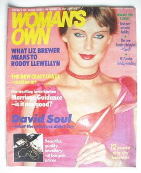 <!--1978-07-22-->Woman's Own magazine - 22 July 1978