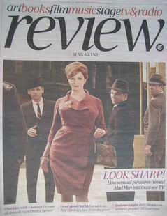 The Daily Telegraph Review newspaper supplement - 16 January 2010 - Mad Men