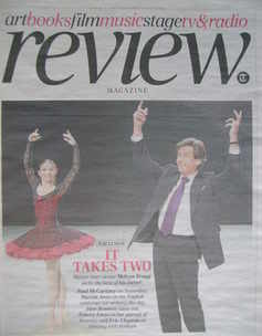 The Daily Telegraph Review newspaper supplement - 20 March 2010 - Alina Coj