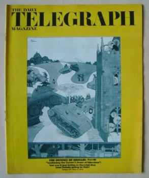 The Daily Telegraph magazine - The Defence of Britain Part III cover (17 May 1974)