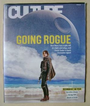Culture magazine - Going Rogue cover (4 December 2016)