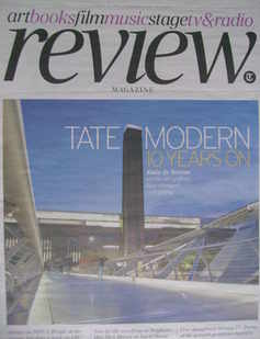 The Daily Telegraph Review newspaper supplement - 24 April 2010 - Tate Mode