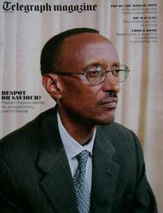<!--2010-07-24-->Telegraph magazine - President Paul Kagame cover (24 July