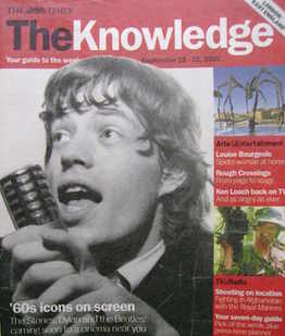 The Knowledge magazine - 15-21 September 2007 - Mick Jagger cover
