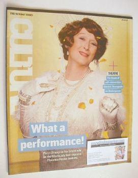 Culture magazine - Meryl Streep cover (24 April 2016)