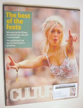 Culture magazine - The Best of the Fests cover (4 May 2014)