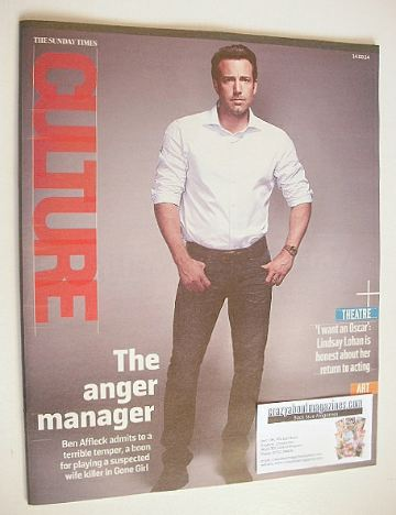 <!--2014-09-14-->Culture magazine - Ben Affleck cover (14 September 2014)
