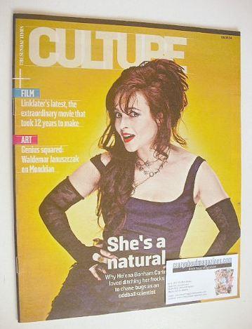 <!--2014-06-08-->Culture magazine - Helena Bonham Carter cover (8 June 2014