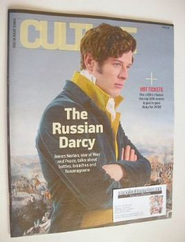 Culture magazine - James Norton cover (3 January 2016)