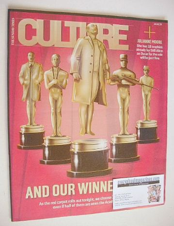 <!--2015-02-22-->Culture magazine - 100 Oscars To Love cover (22 February 2