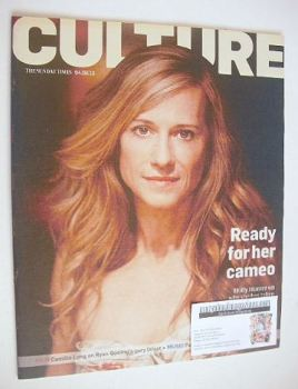 Culture magazine - Holly Hunter cover (4 August 2013)
