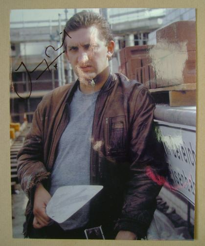 Jimmy Nail autograph (hand-signed photograph)