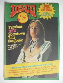 Disco 45 magazine - No 108 - October 1979 - Francis Rossi cover
