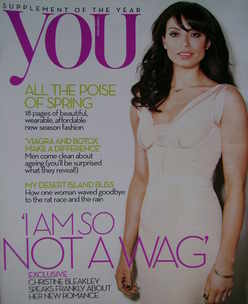<!--2010-03-07-->You magazine - Christine Bleakley cover (7 March 2010)