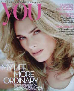<!--2010-05-02-->You magazine - Brooke Shields cover (2 May 2010)