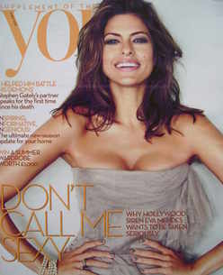 <!--2010-05-09-->You magazine - Eva Mendes cover (9 May 2010)