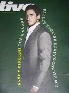 <!--2010-04-11-->Live magazine - Danny Cipriani cover (11 April 2010)