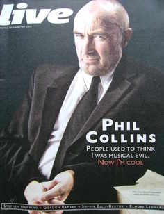 <!--2010-05-02-->Live magazine - Phil Collins cover (2 May 2010)