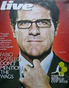 <!--2010-05-30-->Live magazine - Fabio Capello cover (30 May 2010)