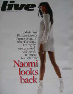 <!--2010-03-21-->Live magazine - Naomi Campbell cover (21 March 2010)