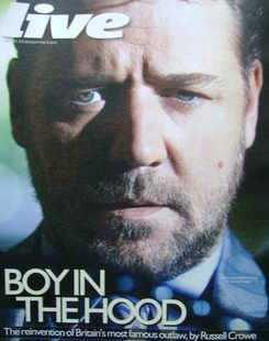 <!--2010-05-09-->Live magazine - Russell Crowe cover (9 May 2010)