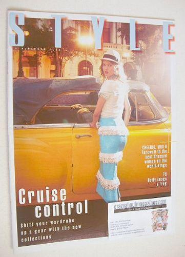 <!--2016-11-06-->Style magazine - Lindsey Wixson cover (6 November 2016)