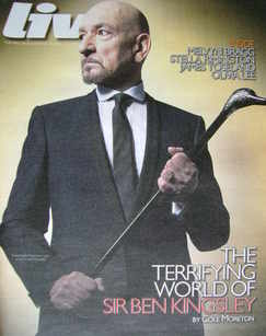 <!--2010-05-16-->Live magazine - Sir Ben Kingsley cover (16 May 2010)
