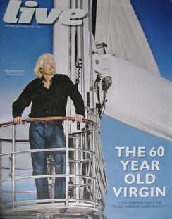 <!--2010-06-06-->Live magazine - Richard Branson cover (6 June 2010)