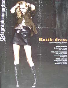 <!--2010-06-05-->Telegraph magazine - Battle Dress cover (5 June 2010)